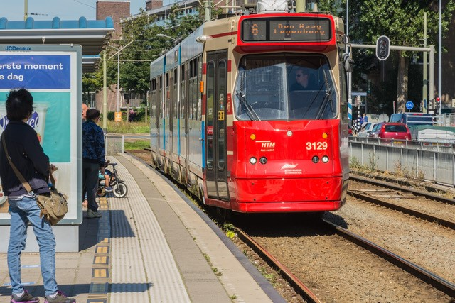 HTM tramlijn 6 halte Leidschendam