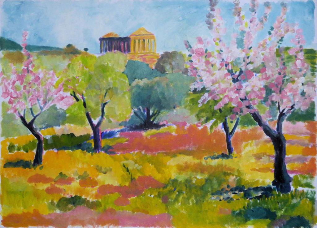 Hella vOckenburg - Voorjaar Agrigento Sicilie?