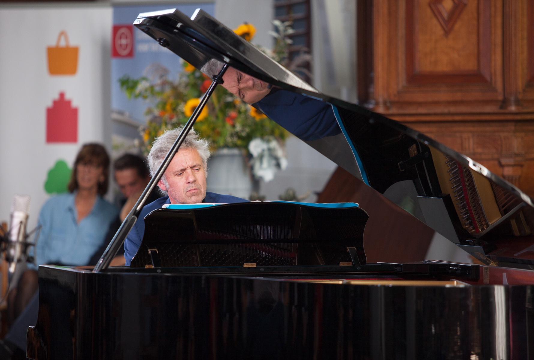 Voorburg, 9 september 2018 Huygens festival Optreden van Ivo Janssen in de oude Kerk te Voorburg