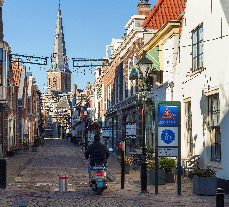 Kentekenhandhaving_Kerkstraat Huygenskwartier Voorburg