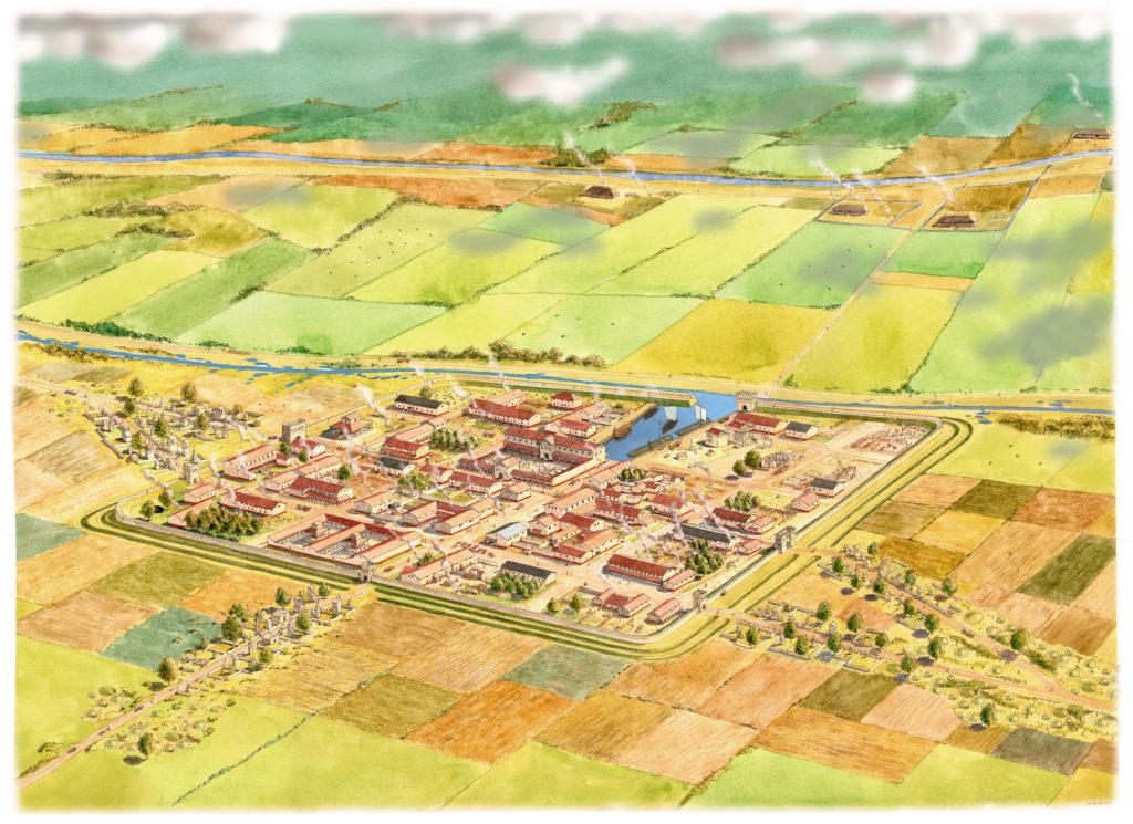 forum hadriani met haven