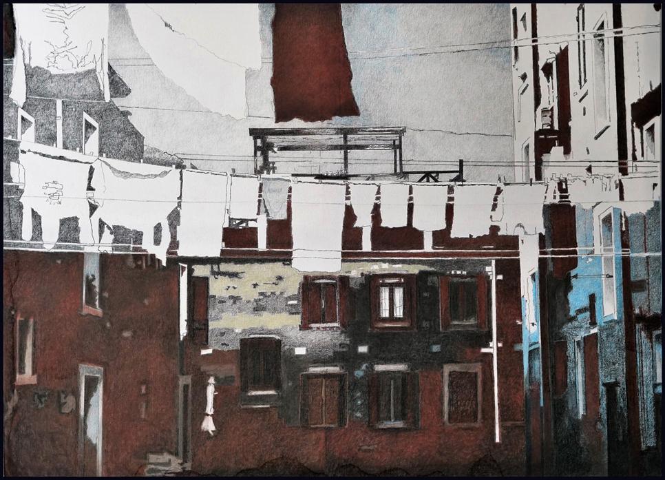 wasgoed Jaap Paauwe - wasgoed op Giudecca
